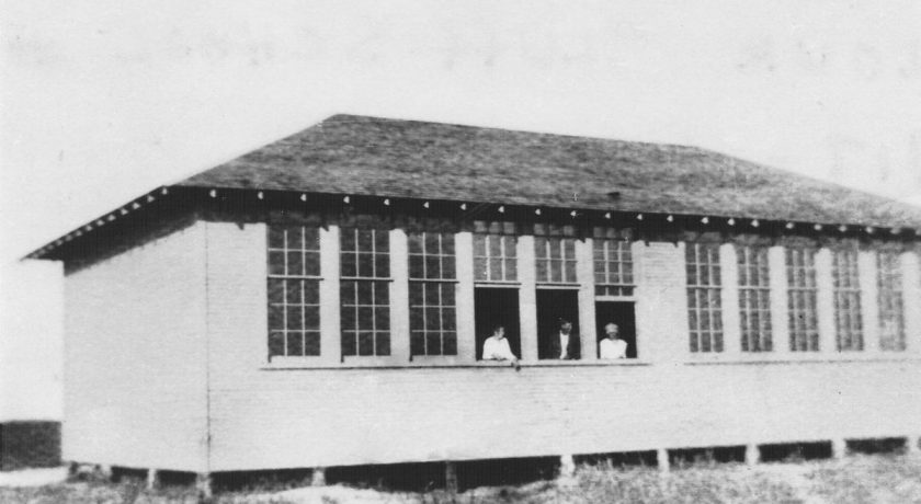 Picture of Flour Bluff School 1916