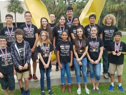 Picture of Intermediate and Junior High Mathcounts Teams