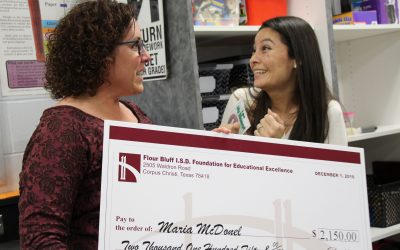 image Education Foundation Grant Recipient Junior High Maria McDonel