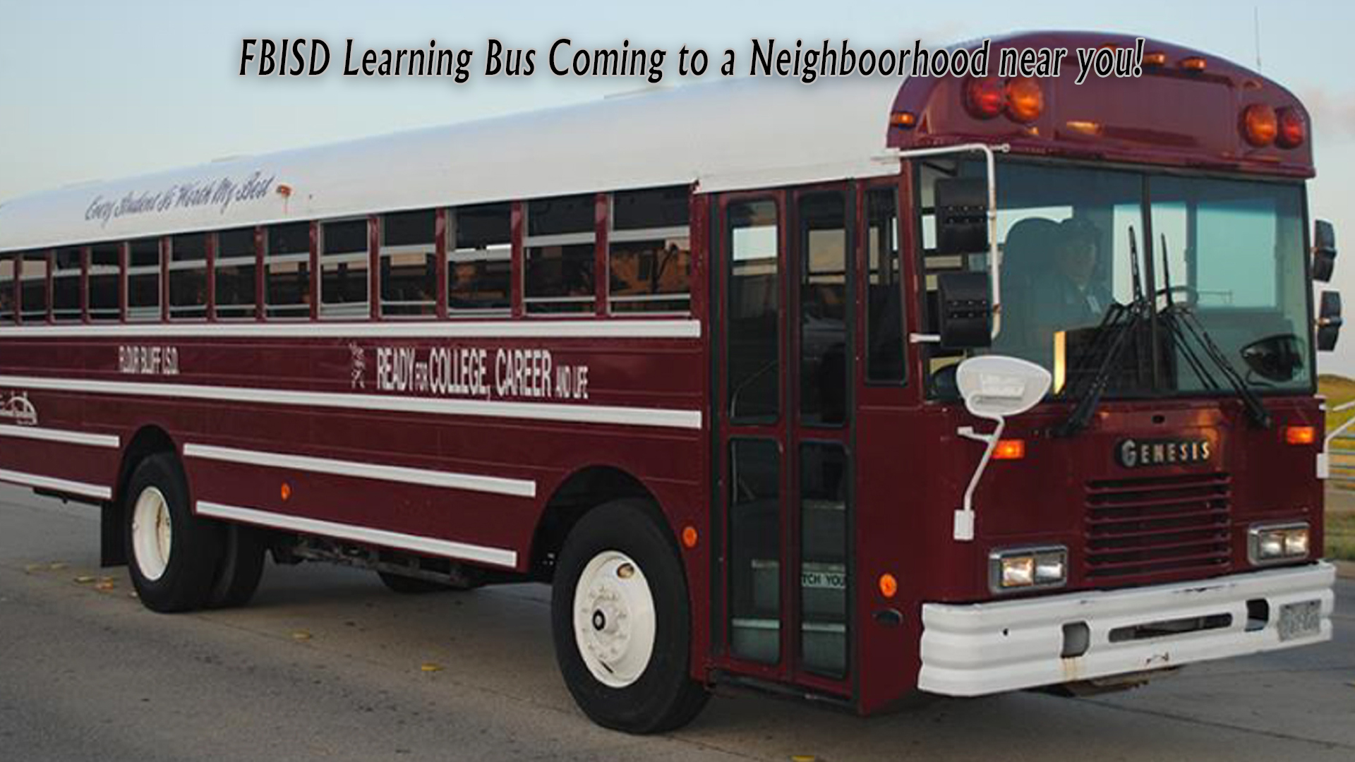 image Learning Bus