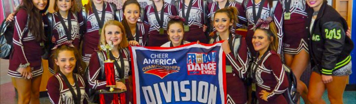 Flour Bluff Cheerleaders won Grand Champions during recent cheer competition