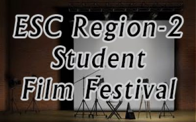 graphic for ESC Region 2 Student Film Festival