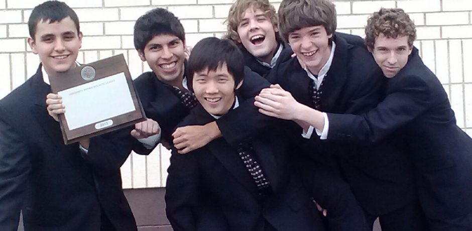 picture of Flour Bluff HS male choir members