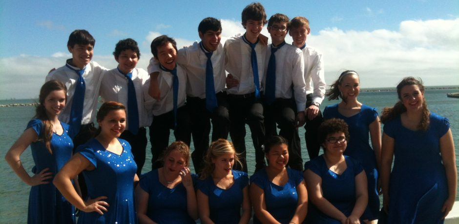 picture of Flour Bluff High School Noteriety Choir Students