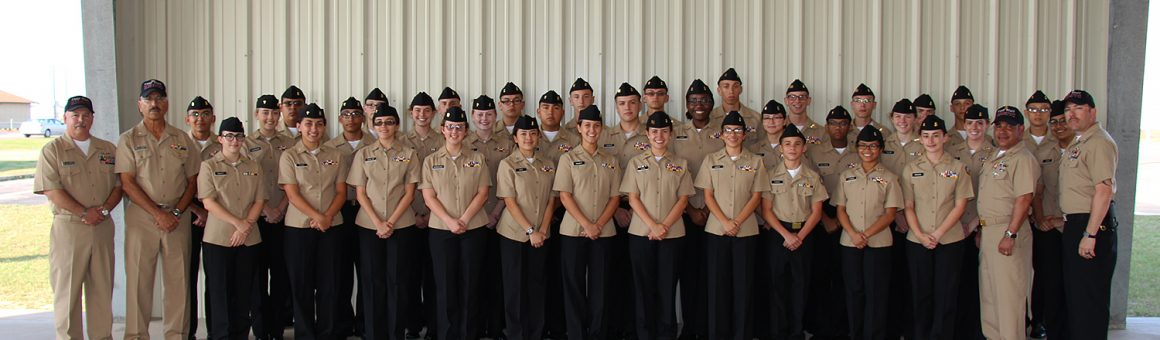 image 2017 NJROTC pictured under pavillion