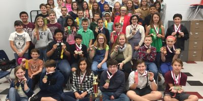 image Group picture of 2017 UIL participants Intermediate students