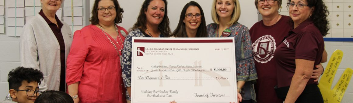 image Foundation for Educational Excellence awards Intermediate teachers Cathy Graham, Jeana Hacker, Karen Jackson, Janiec Knezek, Alicia Little and Taylor Washington a grant award for $5,000.