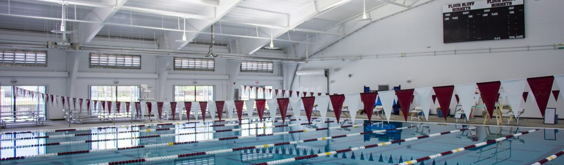 photo of FBISD Natatorium pool lanes