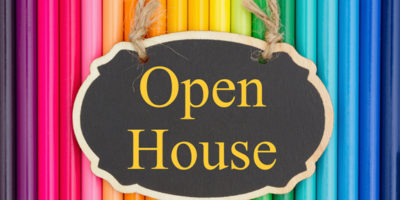 graphic Open House post