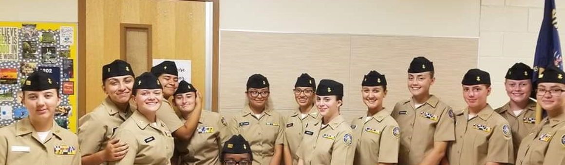 image FBHS NJROTC at Smithson Valley HS Drill Competition