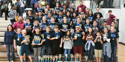 image JH Math Science Team at TMSCA Tournament in Dallas