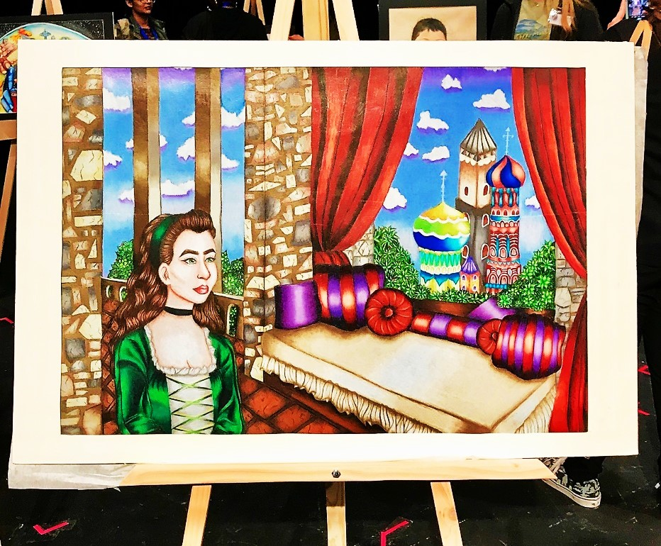 Flour Bluff ISD » Thirty-eight FBHS art students compete in VASE