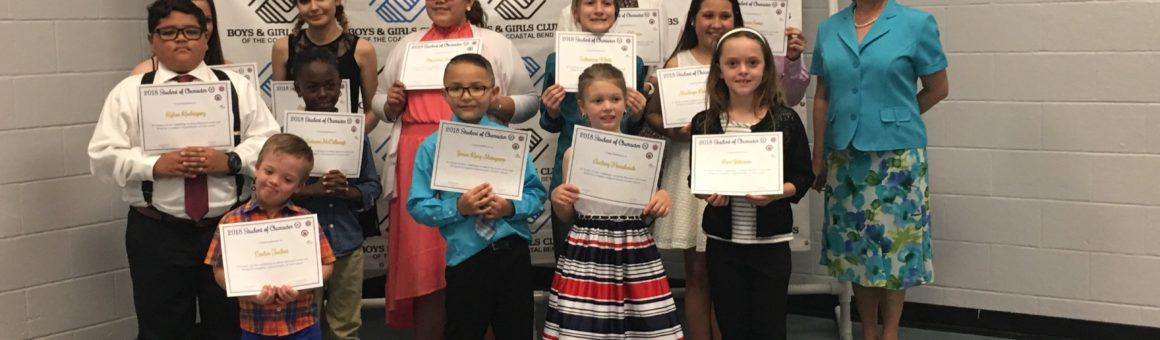 Flour Bluff ISD » 6th Annual Students of Character banquet shines a