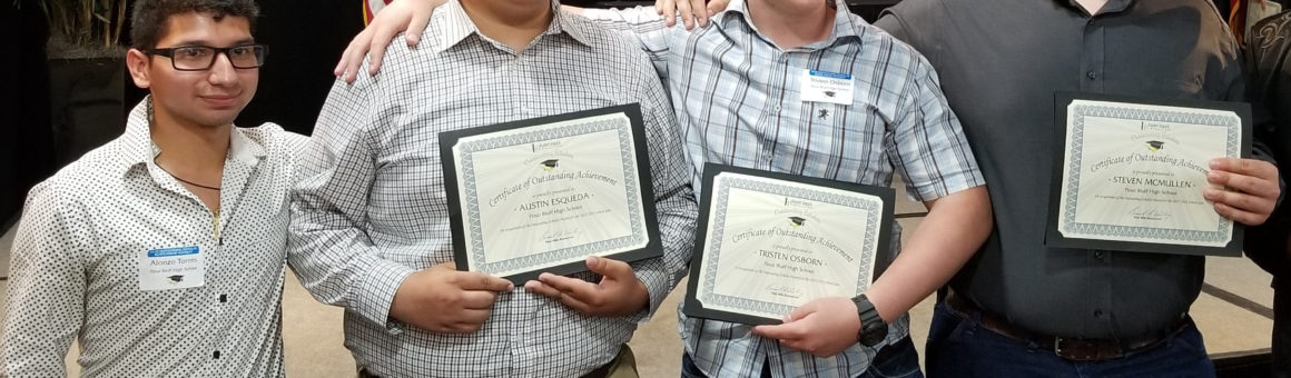 Flint Hills Resources 2018 Outstanding Scholarship Award Recpients
