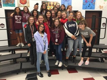 Flour Bluff Junior High Choir Students