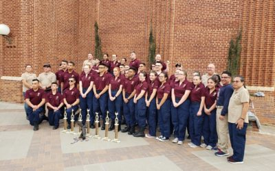image FBHS NJROTC group pic at Texas State Championship
