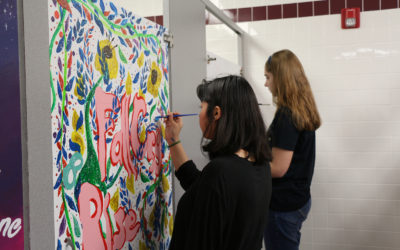Flour Bluff High School Girls Restroom Beautification Project