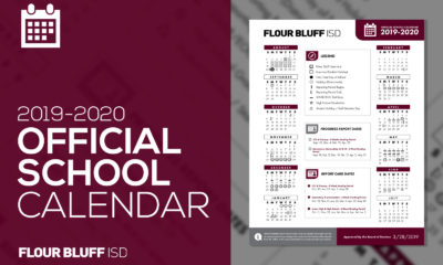 2019-2020 official school calendar