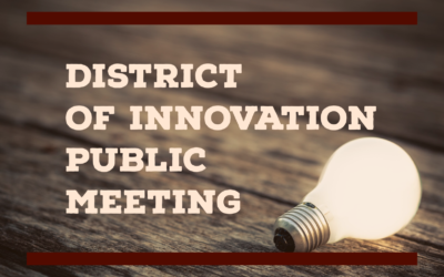 district of innovation public meeting