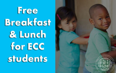 graphic Free breakfast and lunch for ECC students