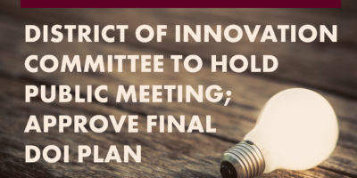 image for district of innovation public meeting