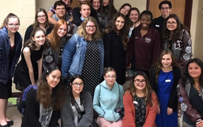 image of FBHS all region choir