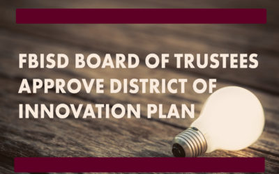 image for FBISD board approving innovation plan