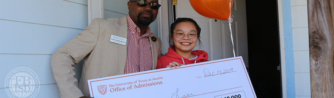 Flour Bluff High School Senior Joanna Liu receives UT Impact Scholarship