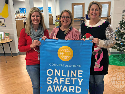 Flour Bluff Primary & Intermediate campuses win Learning.com student online safety awards