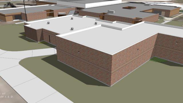 Junior High Rendition - Bond 2013 Construction Projects