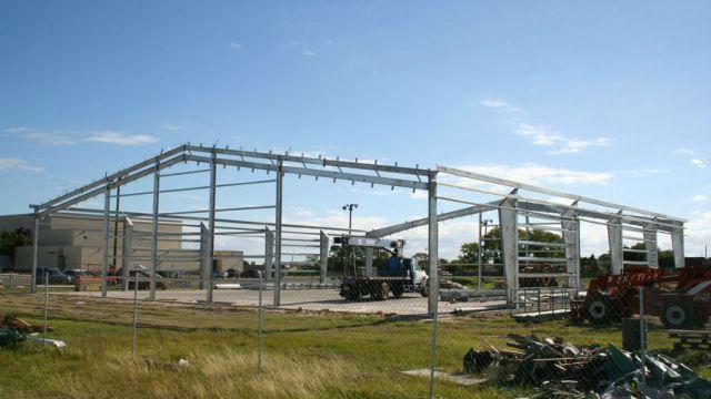 NJROTC Pavilion - Bond 2013 Construction Projects