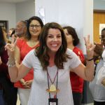 Kindergarten teacher, Jennifer Sherard, wins Grito shouting contest