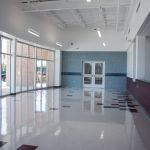 image FBISD Natatorium Foyer and concession area