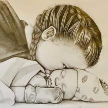 """Elizabeth Kemp – 12th Grade """"Birth of a Family"""""""