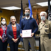 Naval Academy Appointee Aidan Featherby