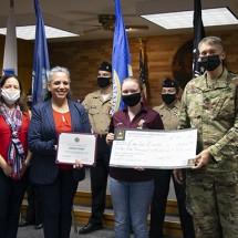 ROTC Scholarship to UT-Arlington recipient Emilie Evans