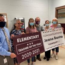 Flour Bluff ISD 2021 Elementary Teacher of the Year Jeana Banta
